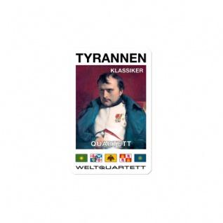 Tyrannen-Klassiker-Quartett