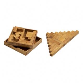 Spiel des Lebens - 13 Puzzleteile - Denkspiel - Knobelspiel - Geduldspiel