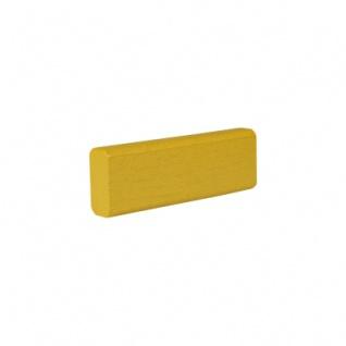 Baustein - Leiste - 75x12, 5x25 mm - gelb