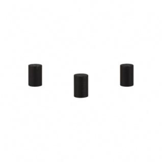 Zylinder - Walze Dia - 10x15mm - schwarz