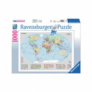 Puzzle - Politische Weltkarte (1000 Teile)