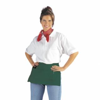 Taschenschürze - dunkelgrün - 50x27 cm