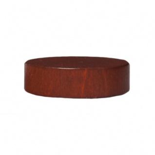 Spielsteine - rund - Holz - braun - 21 x 6 mm - Vorschau 3