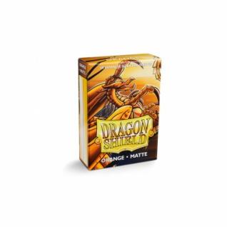 Dragon Shield - Japanese Matte Orange (60 Stück)
