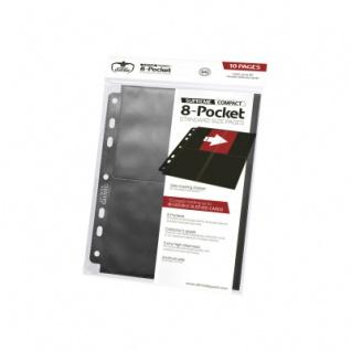 8-Pocket Standard Size Pages Schwarz - 10