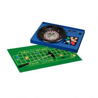 Roulette Set Deluxe - mit Bakalit-Teller - 30 cm