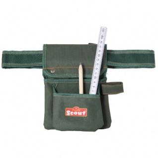 Scout Tools Werkzeuggürtel mit Zollstock und Bleistift