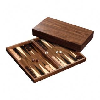 Backgammon - Kassette - Pantelis - Holz - groß