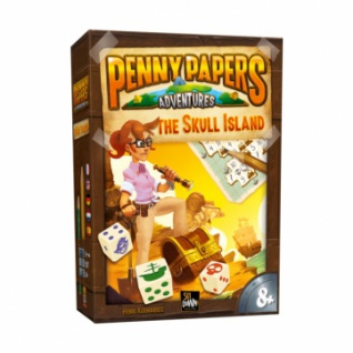 Penny Papers Adventures - Skull Island (multilingual)