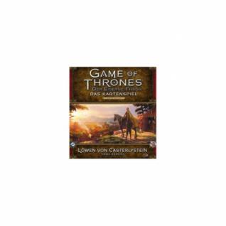 GoT Kartenspiel - Der Eiserne Thron - 2. Edition Löwen von Casterlystein Erweiterung