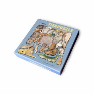 F.K. Waechters Tierpuzzle - Ein Bild aus 33 Tieren