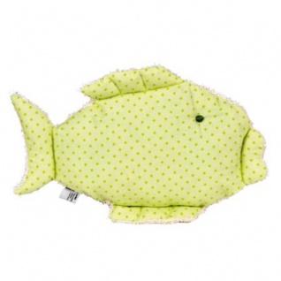 Stofffisch zum Kuscheln aus Baumwolle - ca 19 x 27 cm