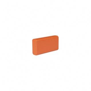 Baustein - Leiste klein - 50x12, 5x25 mm - orange