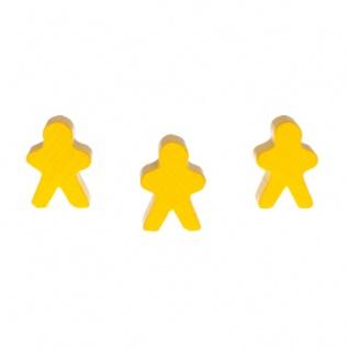 Männchen - 18x25x10mm - gelb