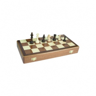 Schachkassette - Mahagoni - Feldgröße 42 mm - Königshöhe 64 mm - Vorschau 2