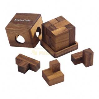 Kreta-Cube - Denkspiel - Knobelspiel - Geduldspiel