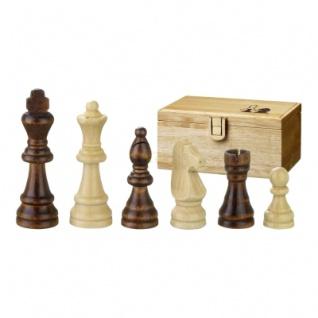 Schachfiguren - Remus - Holz - Staunton - Könighöhe 89mm