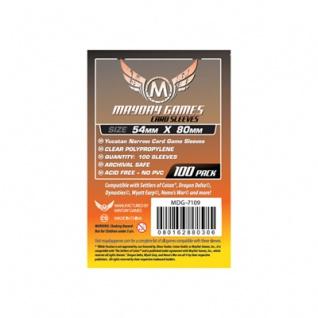 Yucatan Narrow Card Game Sleeves (100) - 54 x 80mm -7109