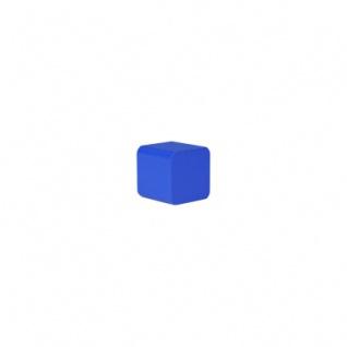 Baustein - Würfel - 25x26x26 mm - blau
