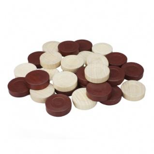Backgammon-Spielsteine - Ersatz- oder Austauschset - 30 mm