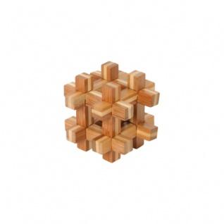 Bambus-Puzzle Kugel im Käfig