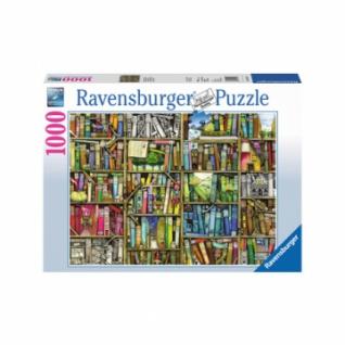 Puzzle - Magisches Bücherregal (1000 Teile)