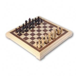 Schachspiel Intarsie - 40 cm