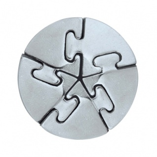 Cast Puzzle Spiral - Metallpuzzle - Level 5
