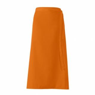 Bistro-Vorbinder - orange - 100x100 cm