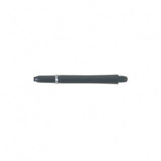 Shaft aus Nylon mit Ring - medium - 45 mm - schwarz - 3 Stück