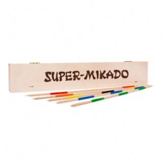 Super-Mikado - 46 cm - in der Holzbox