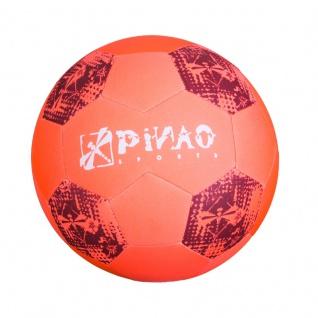 Neopren Beach Soccer Ball - Fußball - neonorange oder -blau