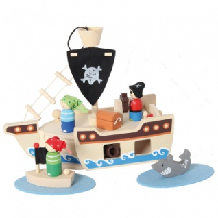 Piratenschiff 10-teilig