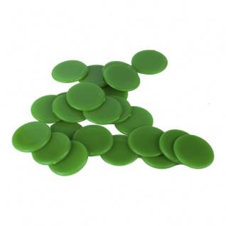Spielchips - 25 mm - grün