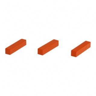 Legestäbchen - Spielsteine - Straße - Holz - orange - 25 mm