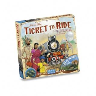Zug um Zug - Spielplansammlung Indien