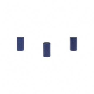 Achteckstein Sky - 8x15mm - dunkel-blau