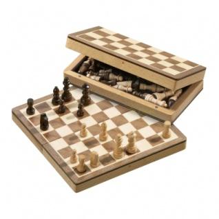 Schachspiel - Schachkassette - klein - Breite 20 cm