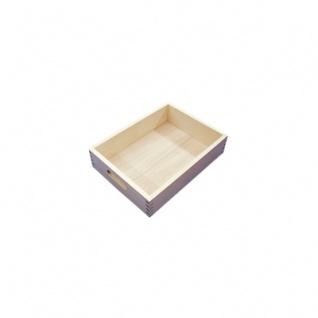 Spielzeugkiste - Kleiner Kasten - 33, 5 x25x8cm - natur - 33mm