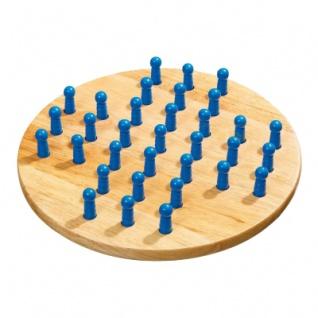 Solitaire - groß - Eschenholz - 33 Spielsteine