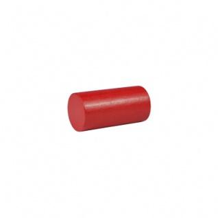 Baustein - Rolle - Säule - 25x50 mm - rot