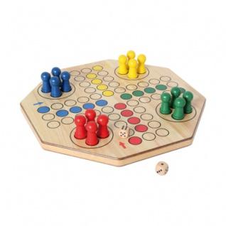 XL-Ludo doppelseitig (4 - 6 Spieler)