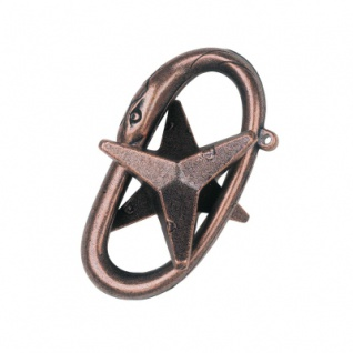 Cast Puzzle Star - Metallpuzzle - Level 3