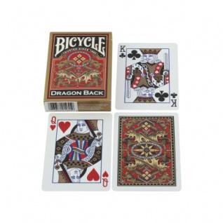 Bicycle Karten - Pokerkarten - Dragon Back - Papier