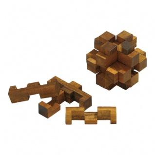Lucifers Freund - 12 Puzzleteile - Denkspiel - Knobelspiel - Geduldspiel