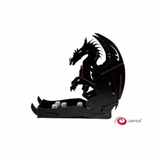 Dice Towers Large - Dice Tower - Dragon (Black)