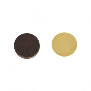 BG-Spielsteine - groß - Erle - 35 x 8 mm - braun und natur