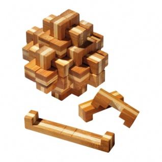 Verflixter Knoten - 24 Puzzleteile - Denkspiel - Knobelspiel - Geduldspiel