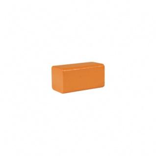 Bauklotz - Rechteck - 50x26x26 mm - orange