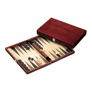 Backgammon - Kassette - Filippos - Holz - standard